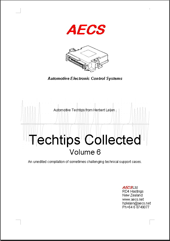 cover page 'techtips vol. 6'