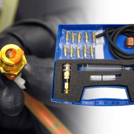 Air-con Stop Leak Detection